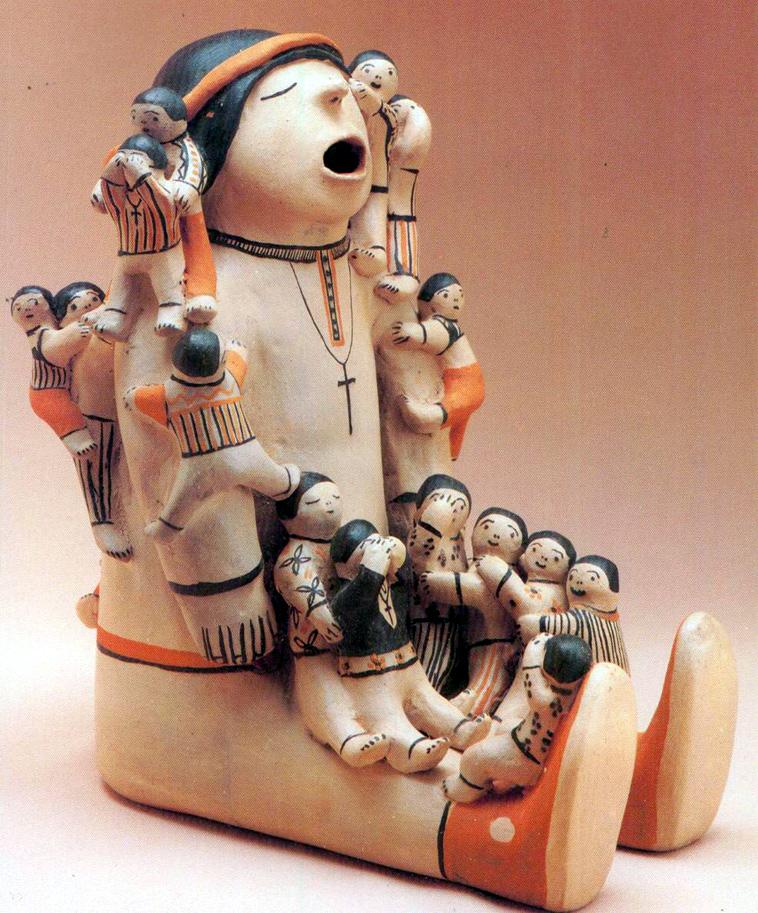 Storyteller doll, bambola raccontastorie Nuovo Messico