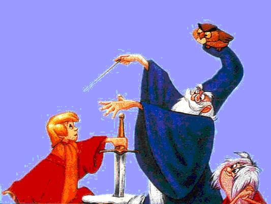 La linea del tempo lezione di storia n 0 con i cartoni animati gli stivali delle 7 leghe - I cavalieri della tavola rotonda film ...
